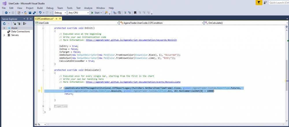 AgenaTrader Wiki | AgenaScript: Using AddOn- and package-indicators