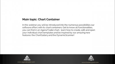 Chart container options